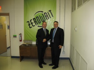 Governor Markell Visits Zerowait