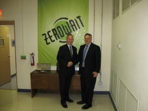 Governor Markell Visits Zerowait