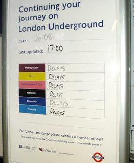 Quite a few delays then
