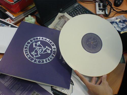 Fire + Ice - Birdking (vinyl, white marble edition)