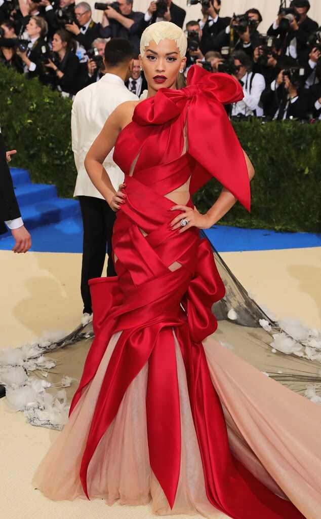 Rita Ora, 2017 Met Gala Arrivals