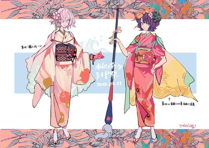 Fgo江戸祭から丁度1年ということでえんどさんによるメイン