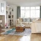 Coastal-style living room | housetohome.
