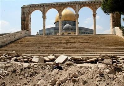 Kerusakan Komplek Al Aqsa