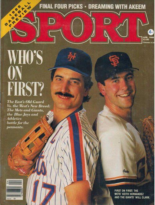 mightyflynn:<br /><br />Hernandez & Clark, 1988<br />via ksk collectibles<br />
