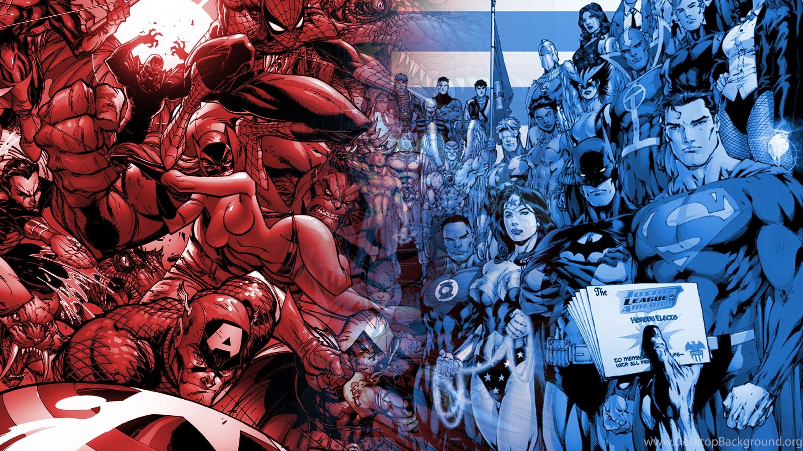 Dc Vs Marvel Wallpaper 76 Images