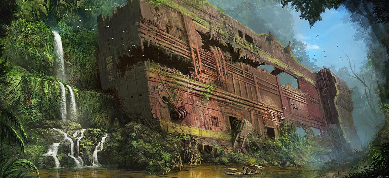 Concept ships october 2013 for Bureau xcom declassified crash