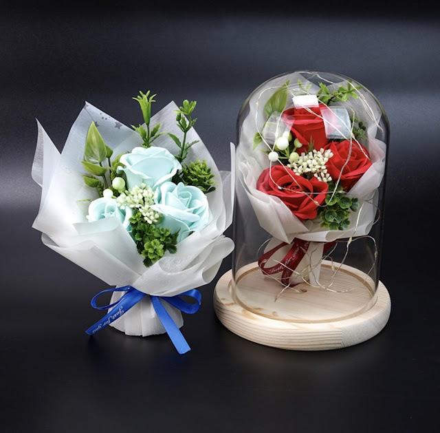 【母親節送禮之選】永恆的愛「永生花燈飾」 送給媽媽表心意