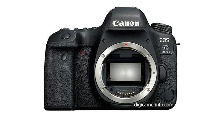 More Detailed Specifications for the Canon EOS 6D Mark II