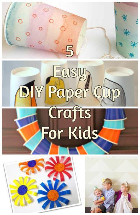easy diy paper cup crafts  kids discountqueenscom