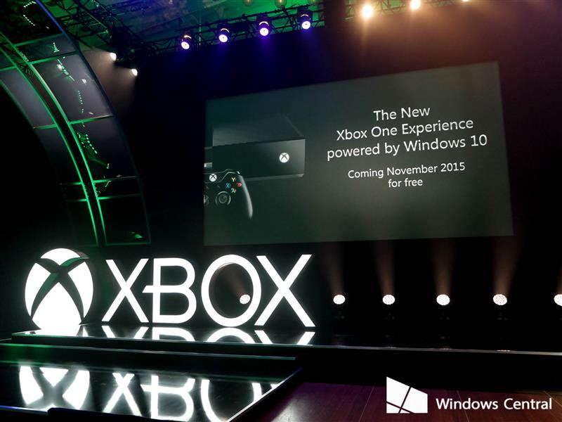 Windows 10 for Xbox One