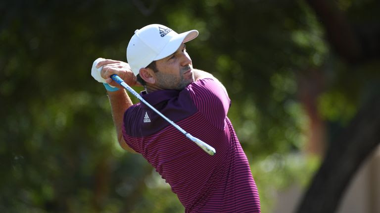 Sergio Garcia still has 10 holes of his second round to complete