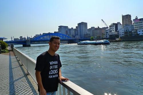 Ming Jin with Himiko Waterbus