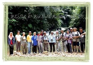 Wong Kadir waterfall