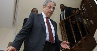 عمرو موسى المرشح لانتخابات الرئاسة