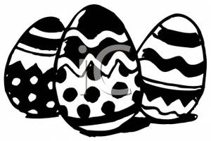 Easter Egg Clipart Black And White Free Download Best Easter Egg