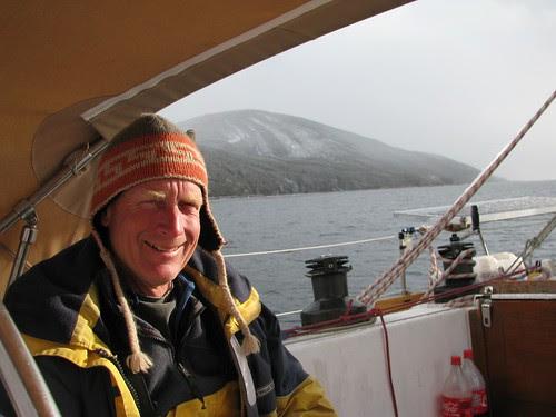 snow at anchor Bahia Buen Suceso