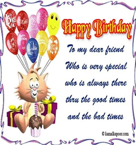 Happy Birthday Wishes for Friends in English