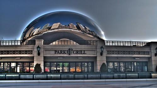 hdr 201 Chicago Bean Millenium Park