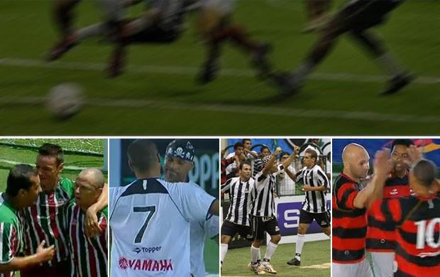 showbol, com Fluminense x Corinthians e Botafogo x Flamengo (Foto: Reprodução)