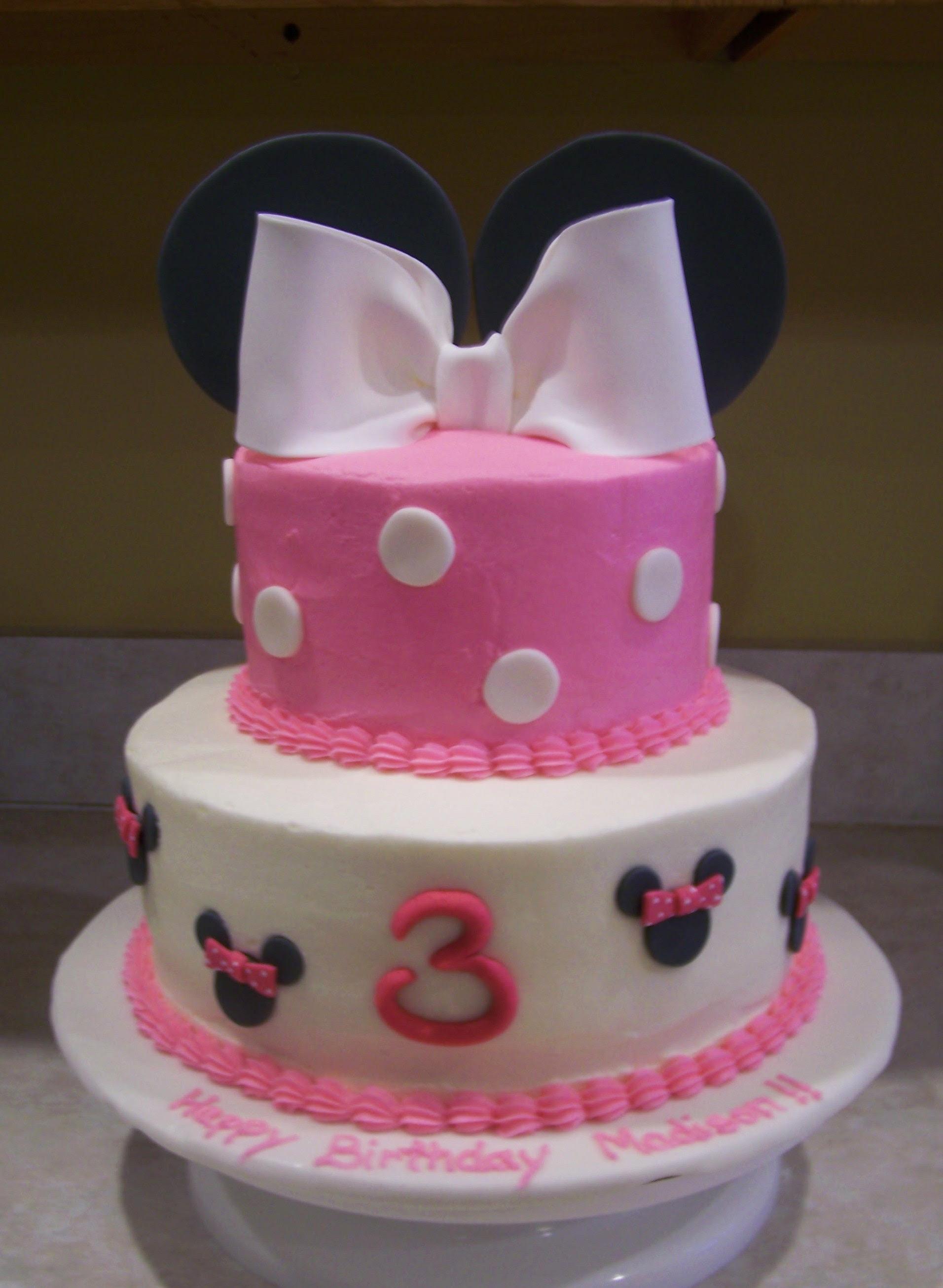 Galería de pasteles de Minnie Mouse. | Ideas y material gratis para ...