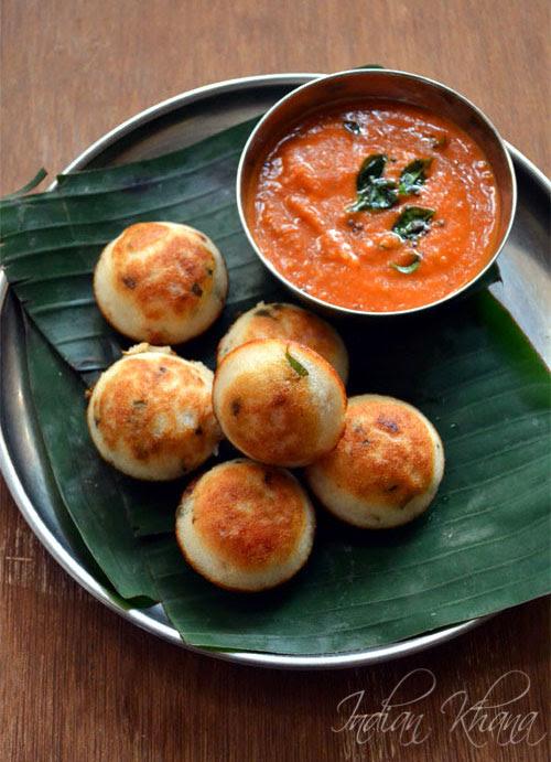 Chettinad Kuzhi Paniyaram Recipe