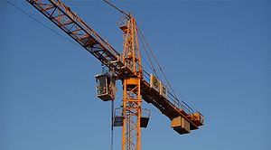 Tower crane in Germany.