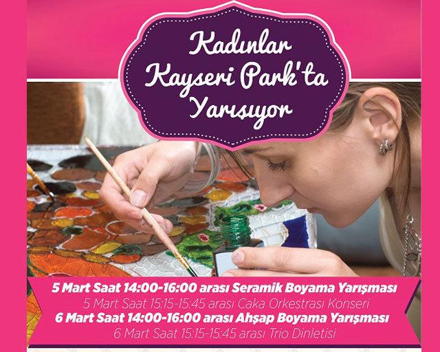 Kayseri Parkta Dünya Kadınlar Günü Kutlaması Avmdergi Türkiyenin