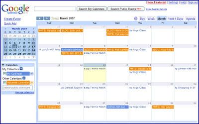 Google Adsense日历