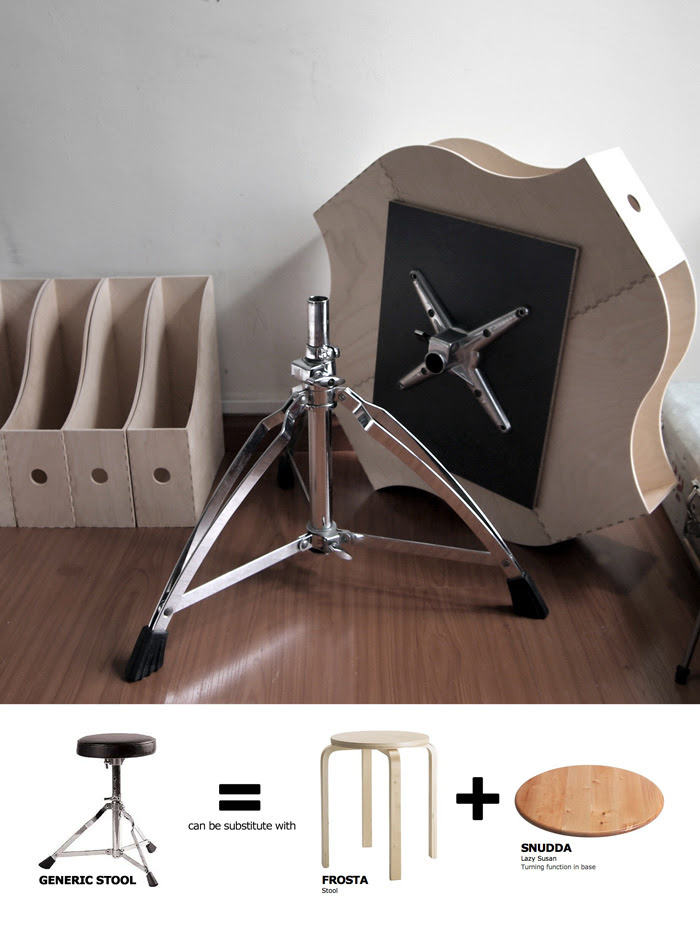 Knuff Transformable Coffee Table Ikea Hackers