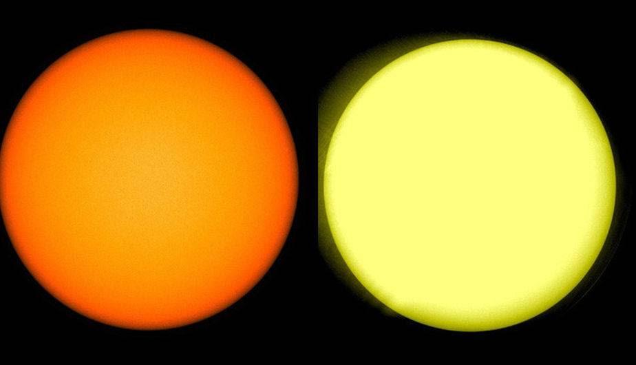 El Sol... ¿en blanco?. (Foto: NASA)
