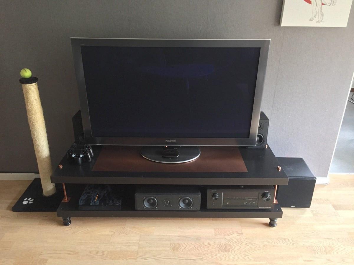 Lack Tv Meubel Ikea Zwart.Lack Tv Meubel Meuble Gallery Collection
