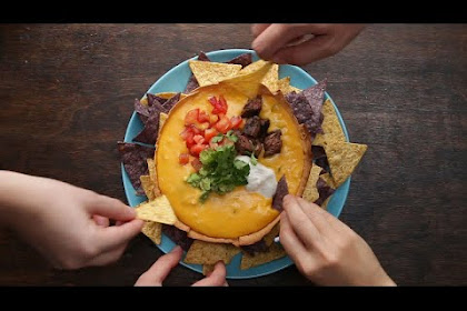Loaded Queso Tortilla Bowl