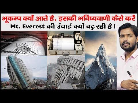 भूकंप से जुड़े  20 महत्वपूर्ण प्रश्न और उत्तर || Bhukamp se related gk