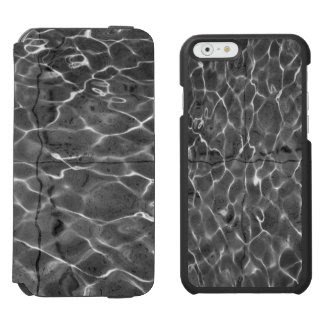Light Reflections On Water: Black & White Incipio Watson™ iPhone 6 Wallet Case