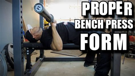 proper bench press form  avoid shoulder pain push