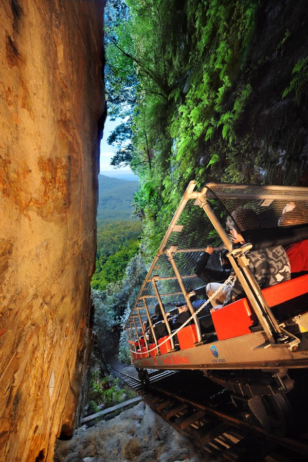 Scenic Railway, Scenic World. Blue Mountains Australia.