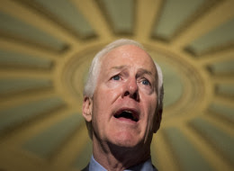 Sen. John Cornyn (R-Texas) says Democrats should have known about the anti-abortion language in the bill. (Photo By Bill Clark/CQ Roll Call)
