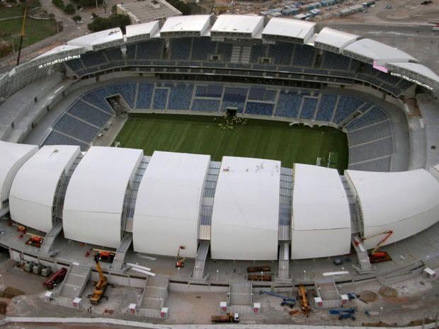 Arena das Dunas, estádio de Natal para a Copa do Mundo (Foto: Canindé Soares)