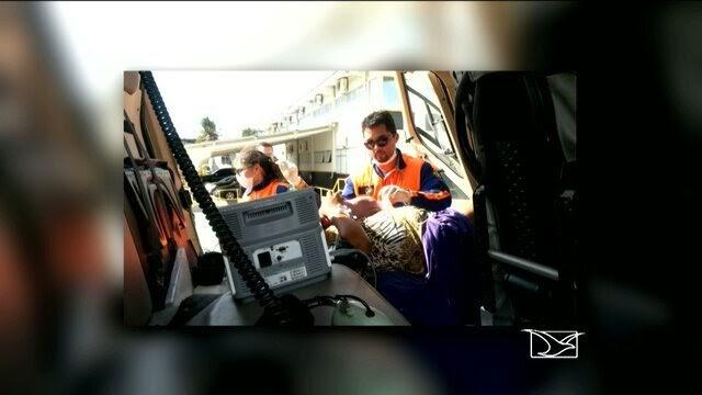 MILAGRE DE DEUS: Mãe dá a luz durante voo em helicóptero, no Maranhão