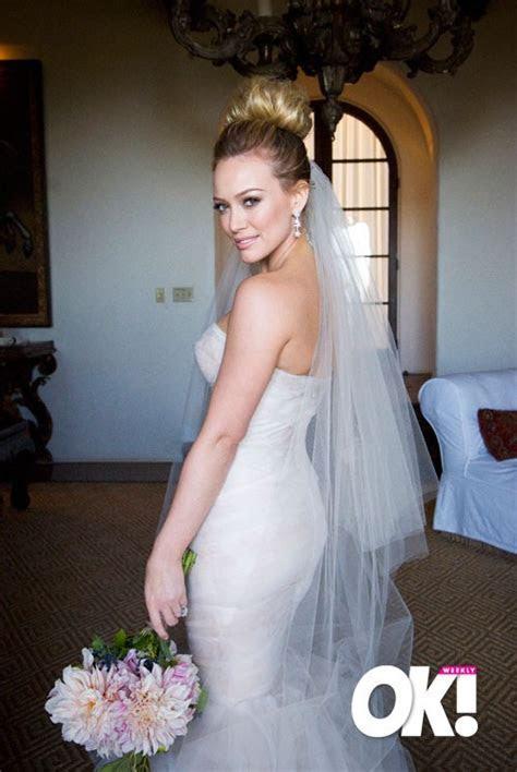 Celebrity Wedding  Hilary Duff ~ The Wedding Dresses