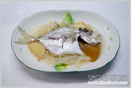 醬冬瓜煮瓜仔魚11
