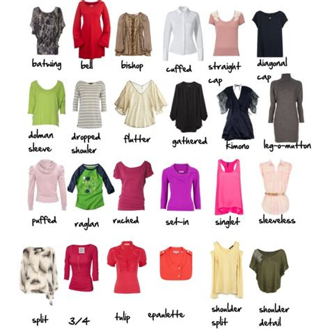 Types Of Tops Fashion