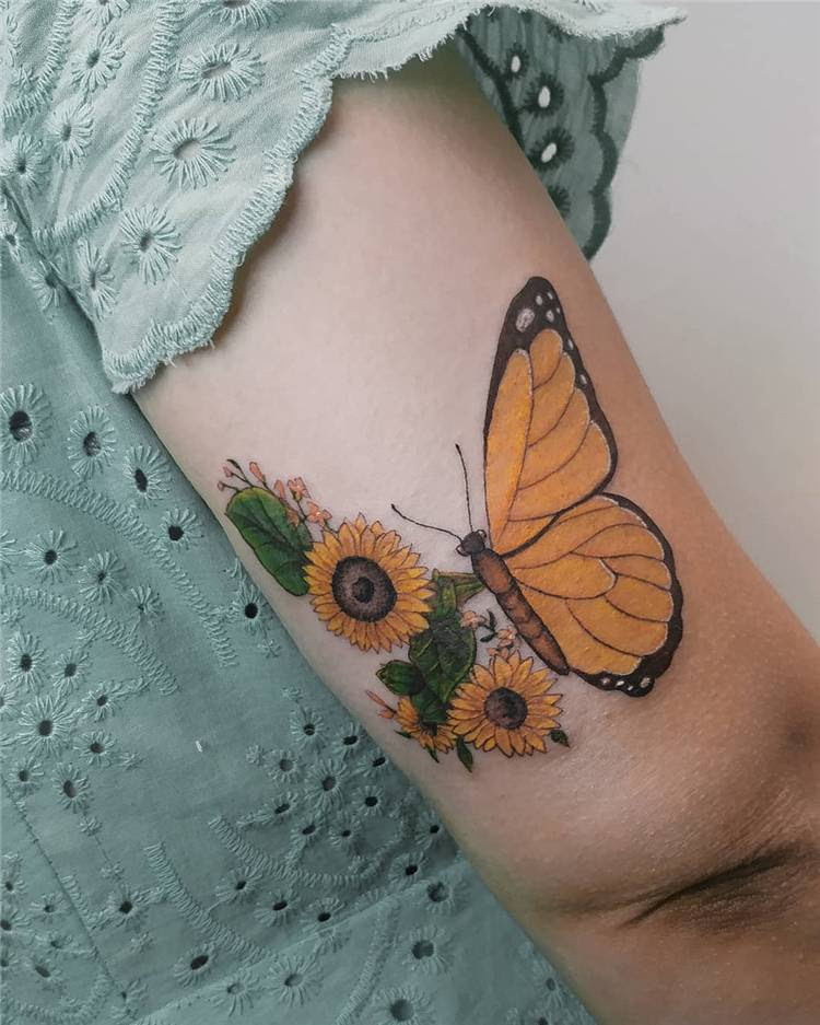 Gorgeous Sunflower Tattoo Designs You Would Love This