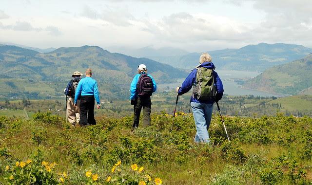 Summit at Tom McCall Preserve - Eastern Columbia River Gorge