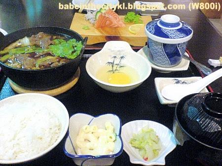 nhk - sukiyaki set RM19.00