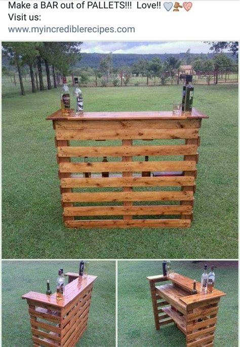 bar   pallets diy pallet projects