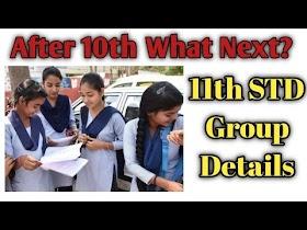 11th standard group details in tamil nadu
