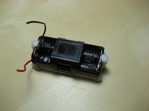 Battery Holder on Platform