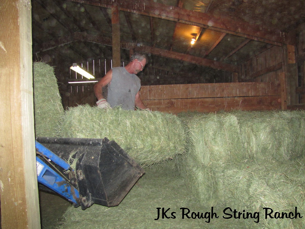 My Man Stacks a Mean Load of Hay